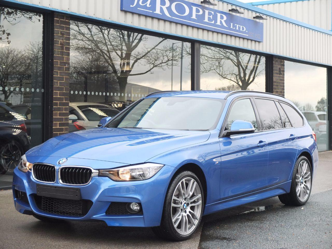 BMW 3 Series 2.0 320d xDrive M Sport Touring Auto (Media Pack) Estate Diesel Estoril Blue MetallicBMW 3 Series 2.0 320d xDrive M Sport Touring Auto (Media Pack) Estate Diesel Estoril Blue Metallic at fa Roper Ltd Bradford