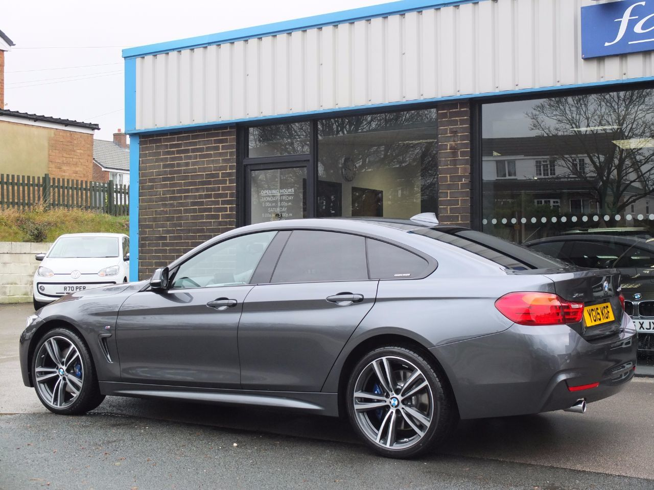 second hand bmw 4 series gran coupe 420d xdrive m sport auto m sport plus and media for sale. Black Bedroom Furniture Sets. Home Design Ideas