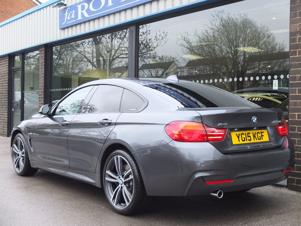 Second Hand BMW 4 Series Gran Coupe 420d xDrive M Sport ...