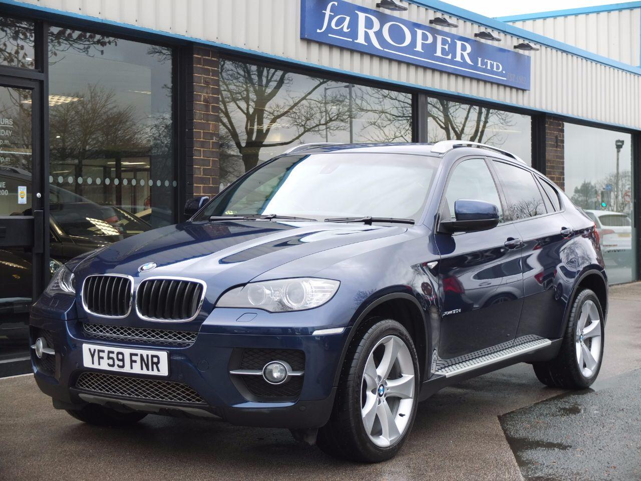 BMW X6 3.0 xDrive30d Auto (Media and Dynamic Packs) Coupe Diesel Deep Sea Blue MetallicBMW X6 3.0 xDrive30d Auto (Media and Dynamic Packs) Coupe Diesel Deep Sea Blue Metallic at fa Roper Ltd Bradford