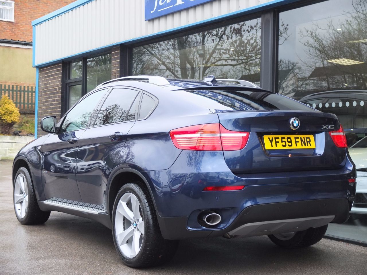 BMW X6 3.0 xDrive30d Auto (Media and Dynamic Packs) Coupe Diesel Deep Sea Blue Metallic