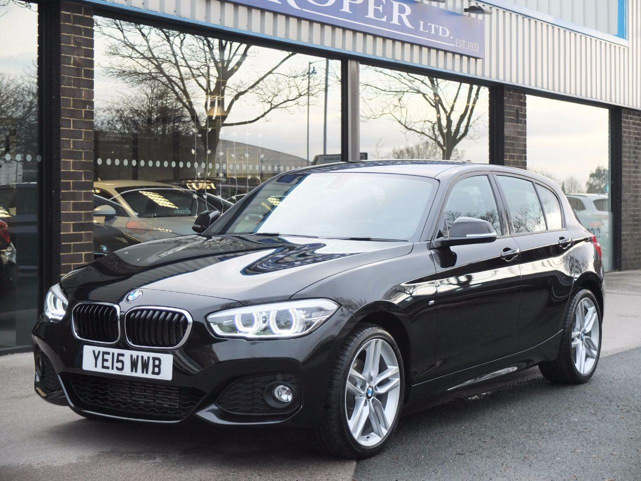 BMW 1 Series 2.0 120d xDrive M Sport Auto New Model (Navigation) Hatchback Diesel Black Sapphire MetallicBMW 1 Series 2.0 120d xDrive M Sport Auto New Model (Navigation) Hatchback Diesel Black Sapphire Metallic at fa Roper Ltd Bradford