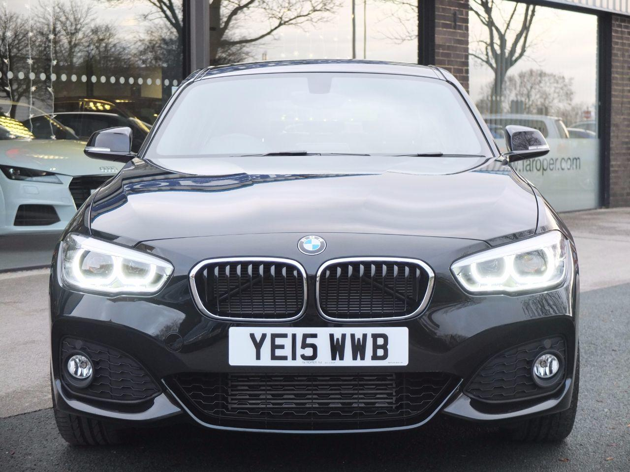 BMW 1 Series 2.0 120d xDrive M Sport Auto New Model (Navigation) Hatchback Diesel Black Sapphire Metallic