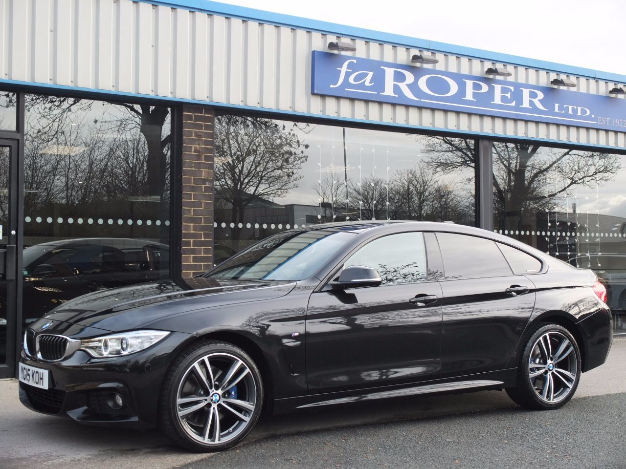 used bmw 4 series gran coupe 420d xdrive m sport auto m sport plus and media for sale in. Black Bedroom Furniture Sets. Home Design Ideas