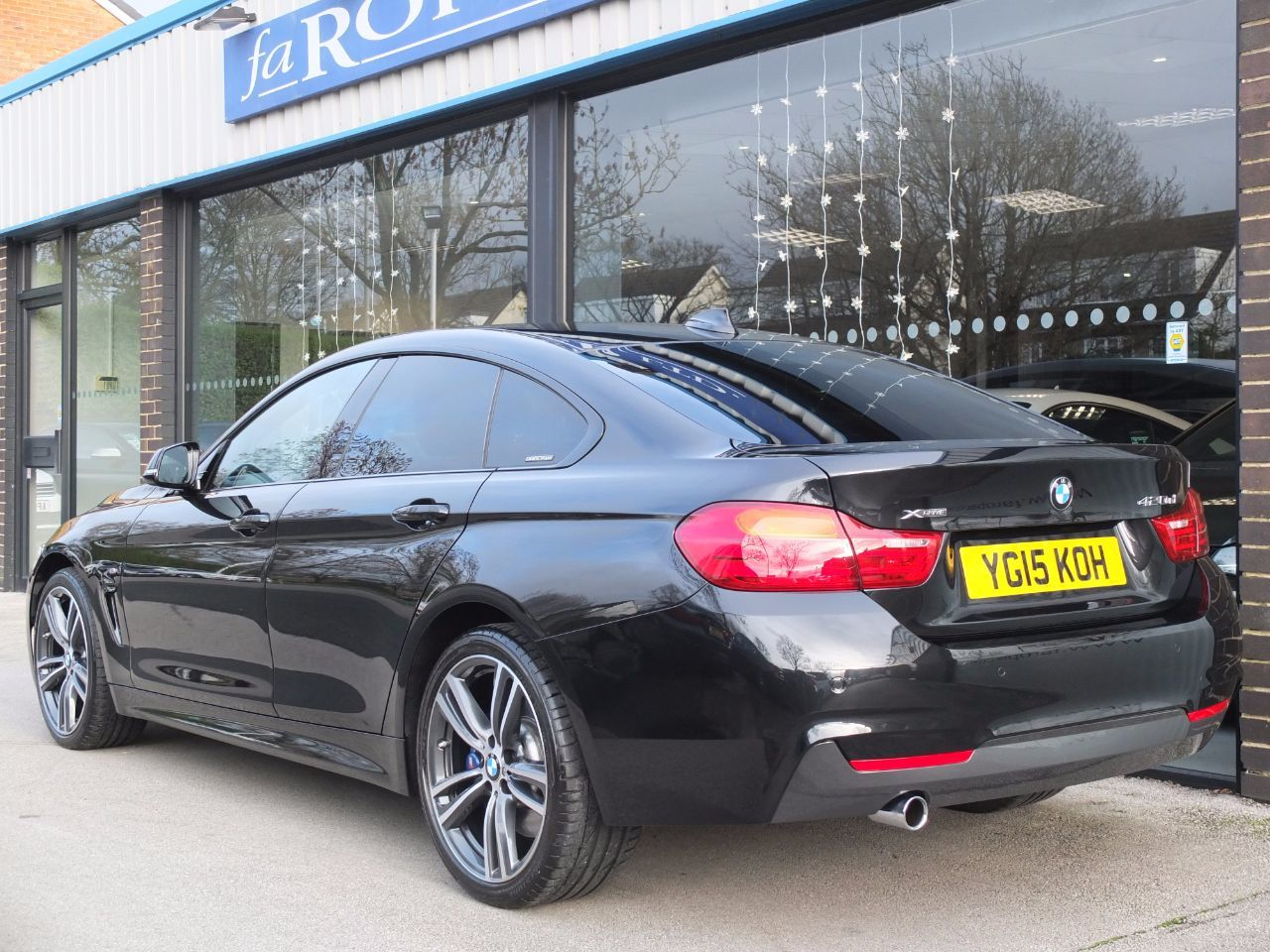 used bmw 4 series gran coupe 420d xdrive m sport auto m. Black Bedroom Furniture Sets. Home Design Ideas