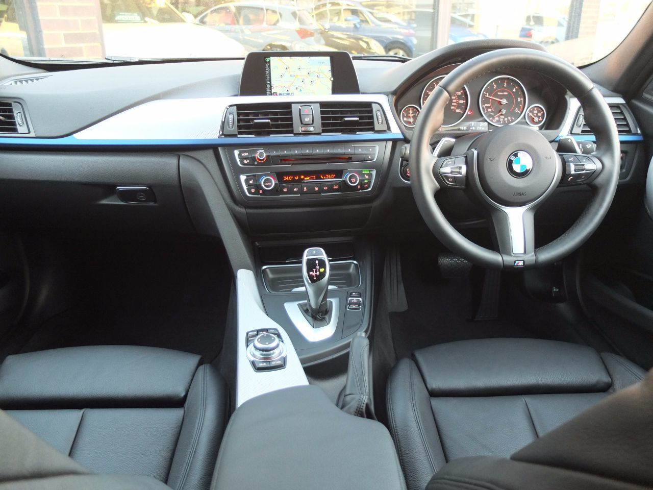 BMW 3 Series 2.0 320d xDrive M Sport Touring Auto (M Sport Plus and Media Packs) Estate Diesel Black Sapphire Metallic