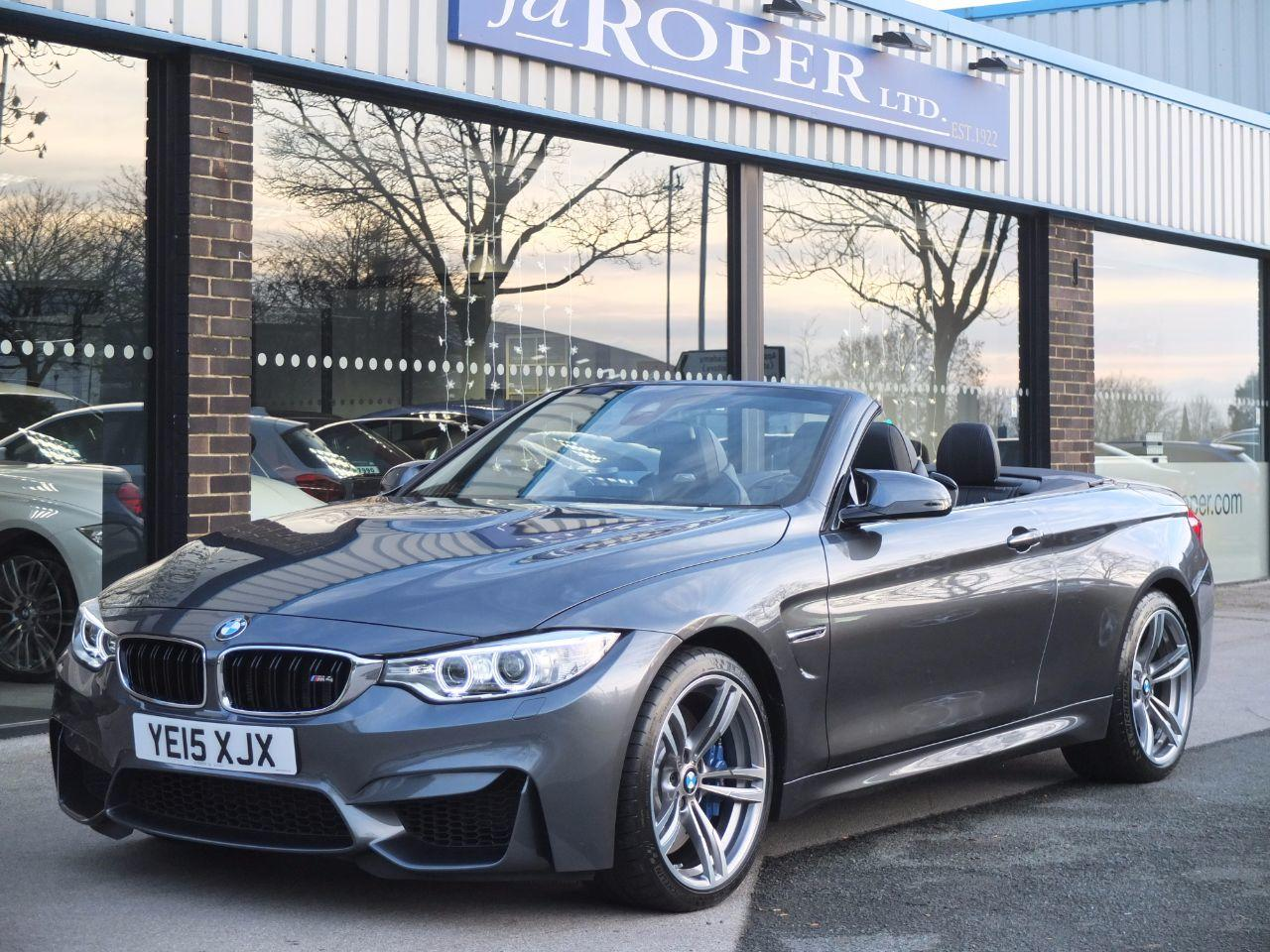 BMW M4 3.0 Convertible Manual ++++Spec Convertible Petrol Mineral Grey MetallicBMW M4 3.0 Convertible Manual ++++Spec Convertible Petrol Mineral Grey Metallic at fa Roper Ltd Bradford