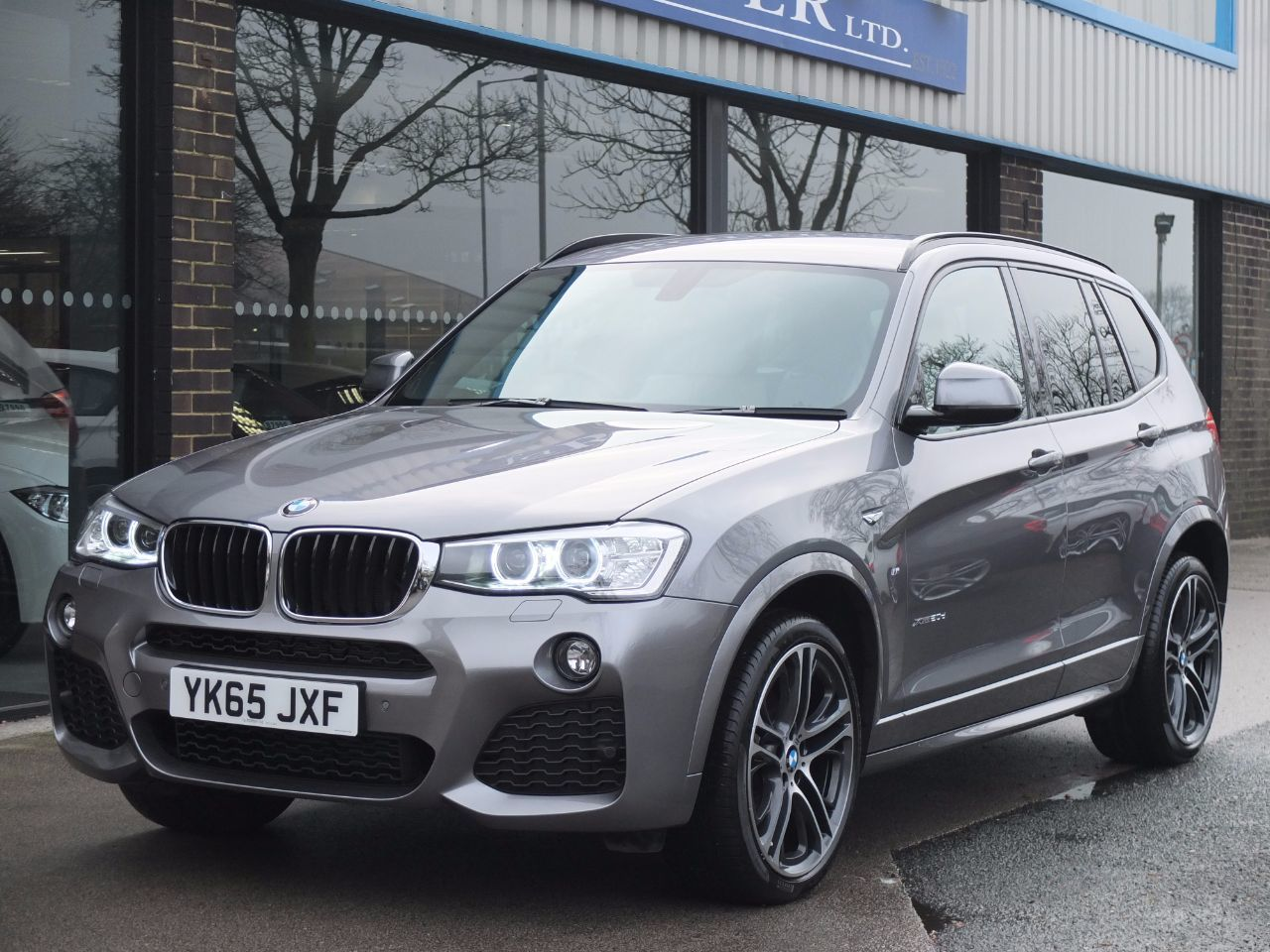 BMW X3 2.0 xDrive20d M Sport Auto (M Sport Plus and Pro Media) Estate Diesel Space Grey MetallicBMW X3 2.0 xDrive20d M Sport Auto (M Sport Plus and Pro Media) Estate Diesel Space Grey Metallic at fa Roper Ltd Bradford
