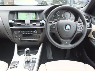 BMW X3 2.0 xDrive20d M Sport Auto (M Sport Plus and Pro Media) Estate Diesel Space Grey Metallic