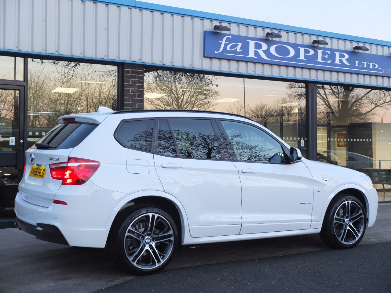 BMW X3 2.0 xDrive20d M Sport Auto M Sport Plus and Pro Media Estate Diesel Alpine White