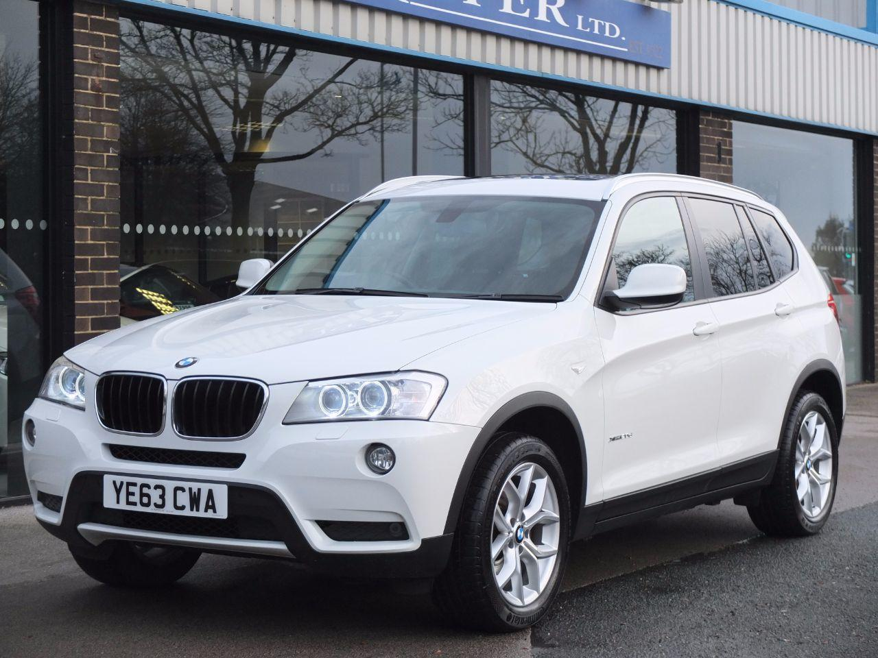 BMW X3 2.0 xDrive20d SE Auto (Pro Media and Panoramic Roof) Estate Diesel Alpine WhiteBMW X3 2.0 xDrive20d SE Auto (Pro Media and Panoramic Roof) Estate Diesel Alpine White at fa Roper Ltd Bradford