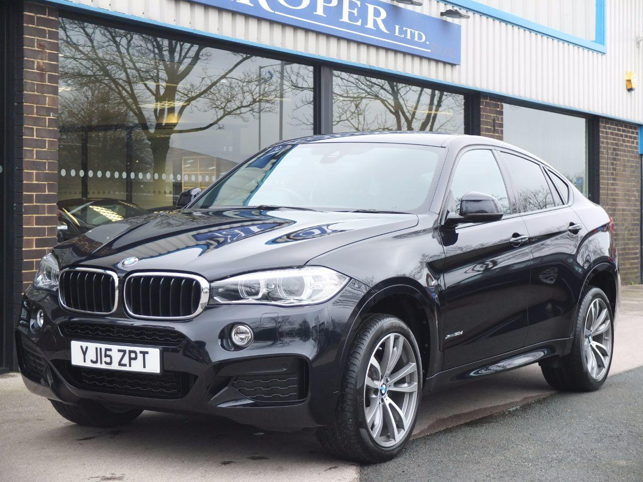BMW X6 3.0 xDrive30d M Sport Auto Coupe Diesel Carbon Black MetallicBMW X6 3.0 xDrive30d M Sport Auto Coupe Diesel Carbon Black Metallic at fa Roper Ltd Bradford