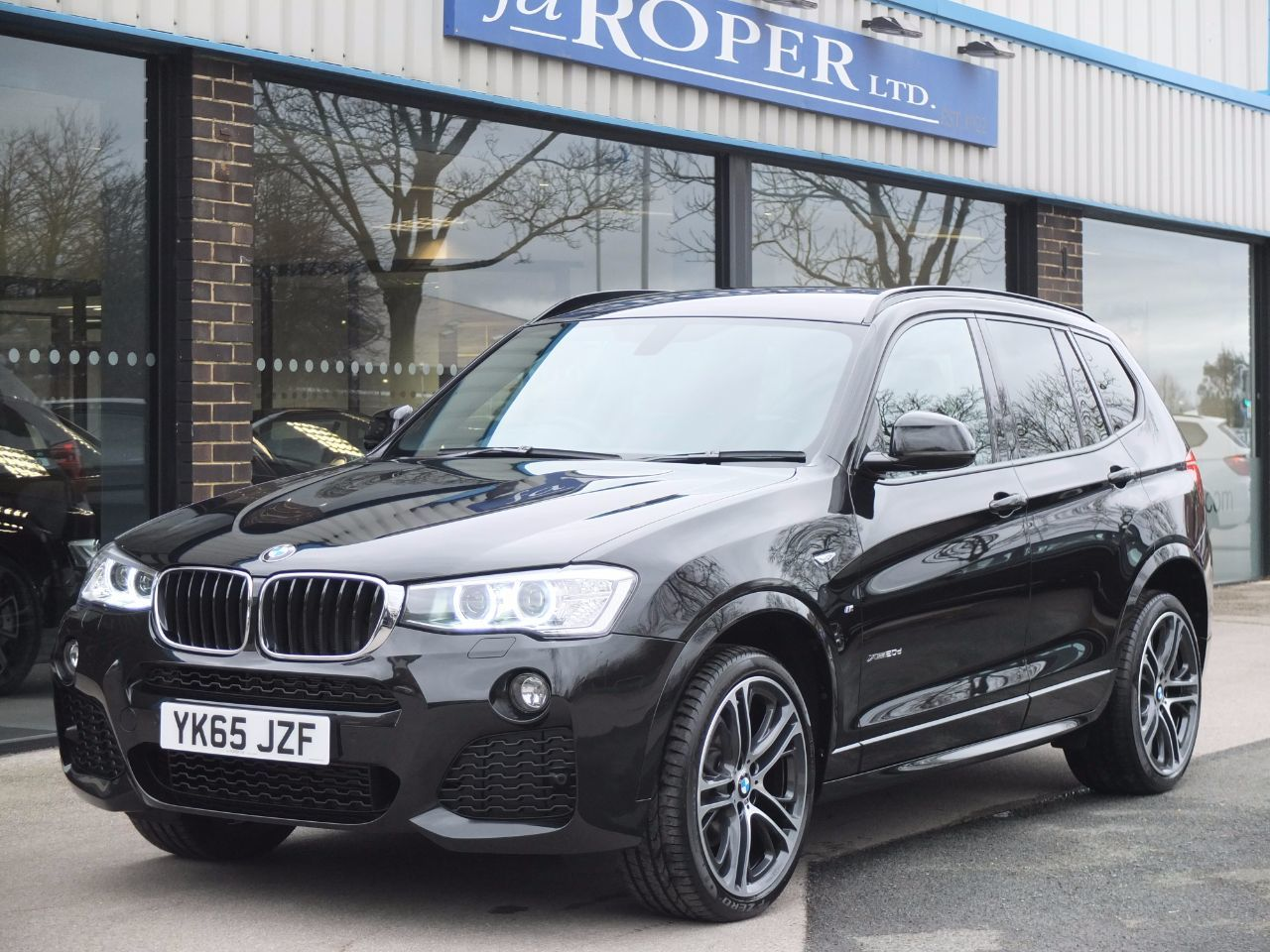 BMW X3 2.0 xDrive20d M Sport Auto M Sport Plus and Pro Media Estate Diesel Black Sapphire MetallicBMW X3 2.0 xDrive20d M Sport Auto M Sport Plus and Pro Media Estate Diesel Black Sapphire Metallic at fa Roper Ltd Bradford
