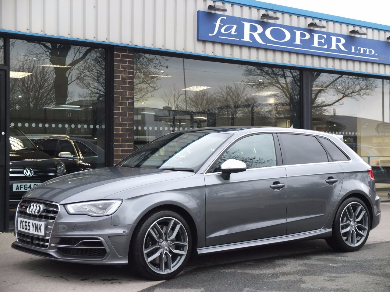 Audi A3 S3 2.0 TFSI quattro Sportback 300ps S Tronic Hatchback Petrol Monsoon Grey Metallic