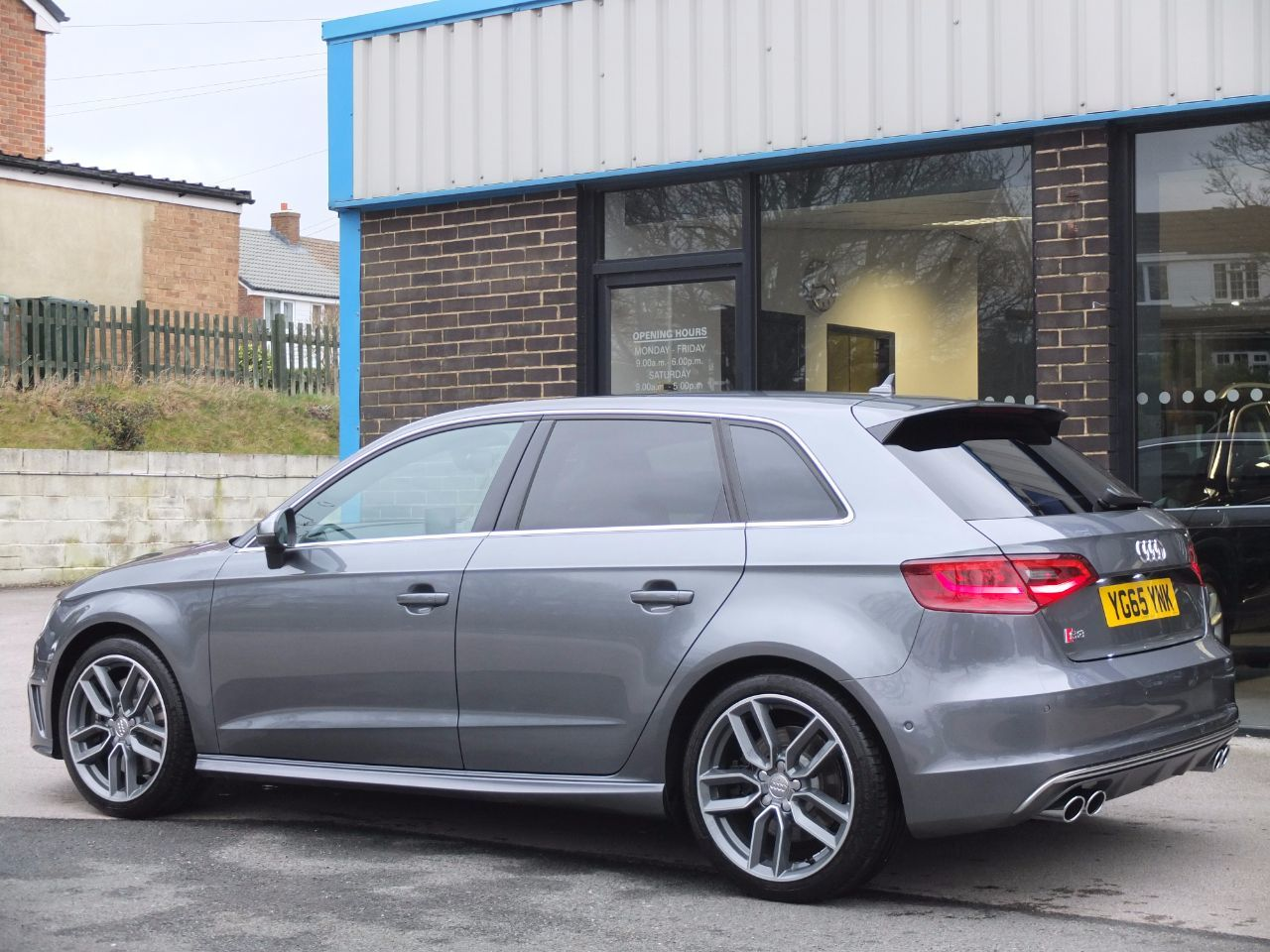 Second Hand Audi A3 S3 2 0 Tfsi Quattro Sportback 300ps S