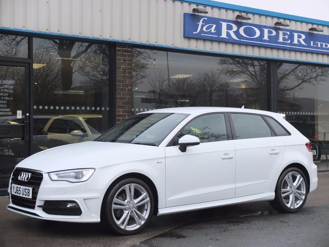used audi a3 sportback 2 0 tdi s line 5 door s tronic 150ps navigation for sale in bradford. Black Bedroom Furniture Sets. Home Design Ideas