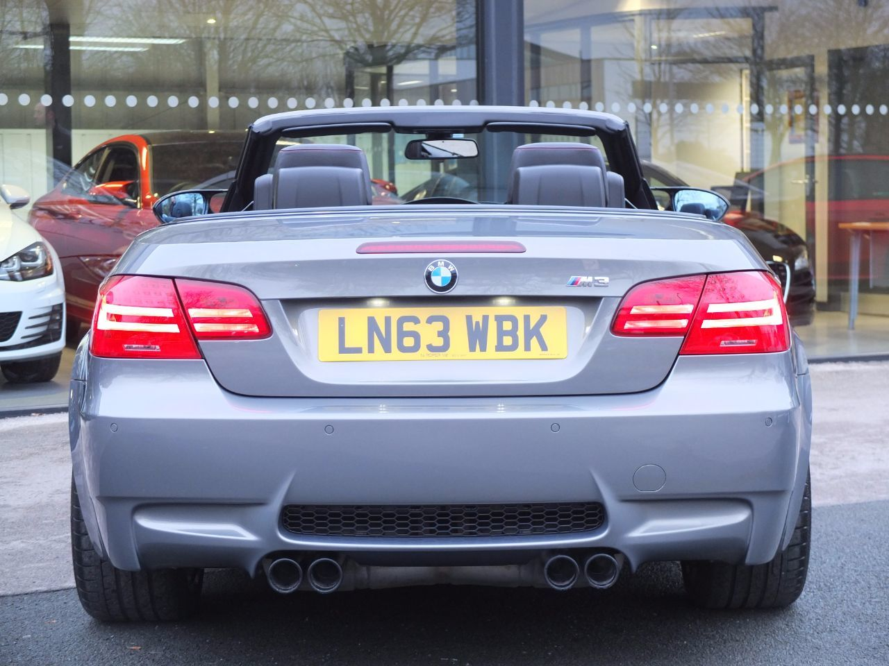 BMW M3 4.0 M3 Convertible '500 Limited Edition' DCT Convertible Petrol Bmw Individual Paint Finish Stratus Grey