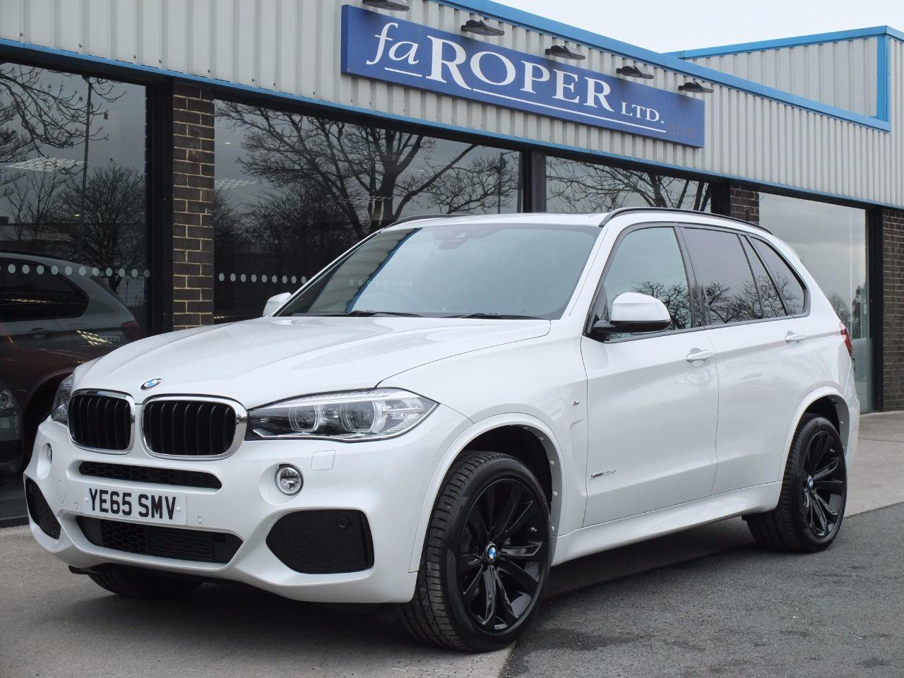 BMW X5 2.0 xDrive25d M Sport 231ps Auto Estate Diesel Mineral White MetallicBMW X5 2.0 xDrive25d M Sport 231ps Auto Estate Diesel Mineral White Metallic at fa Roper Ltd Bradford
