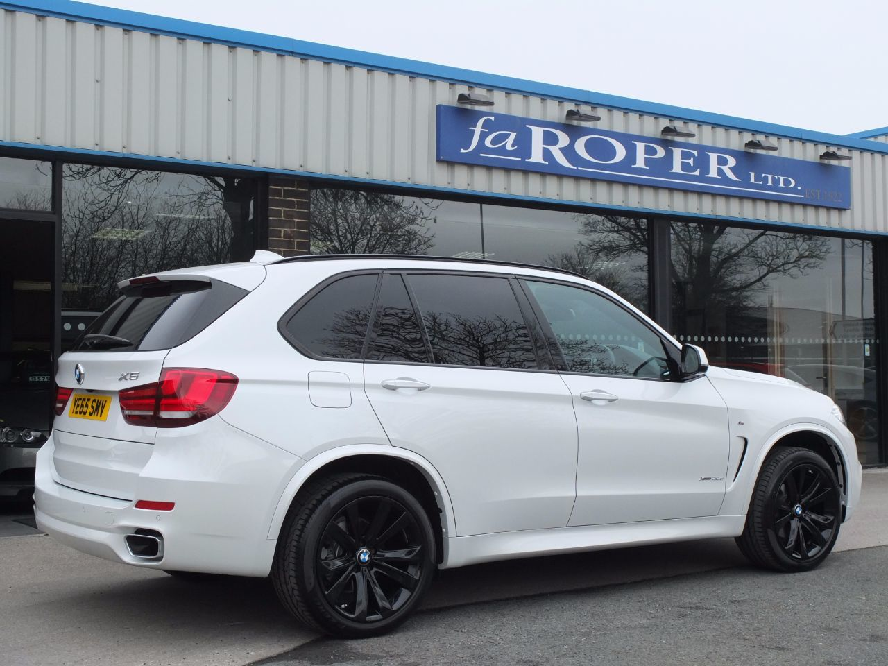 BMW X5 2.0 xDrive25d M Sport 231ps Auto Estate Diesel Mineral White Metallic