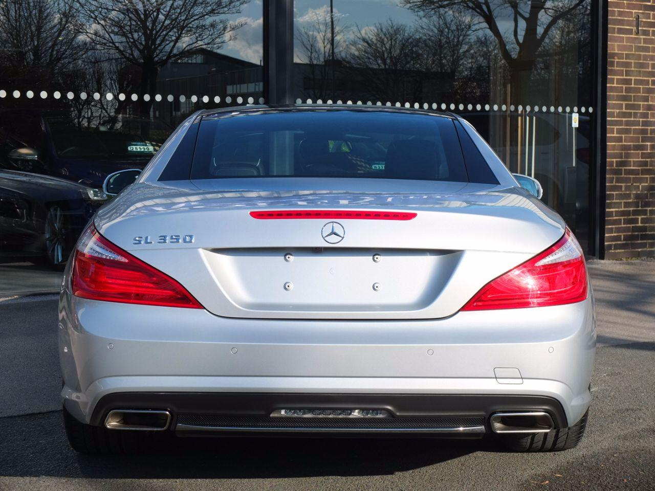 Mercedes-Benz SL Class 3.5 SL 350 BlueEfficiency 7G-Tronic Plus, AMG Sports Package Convertible Petrol Iridium Silver Metallic