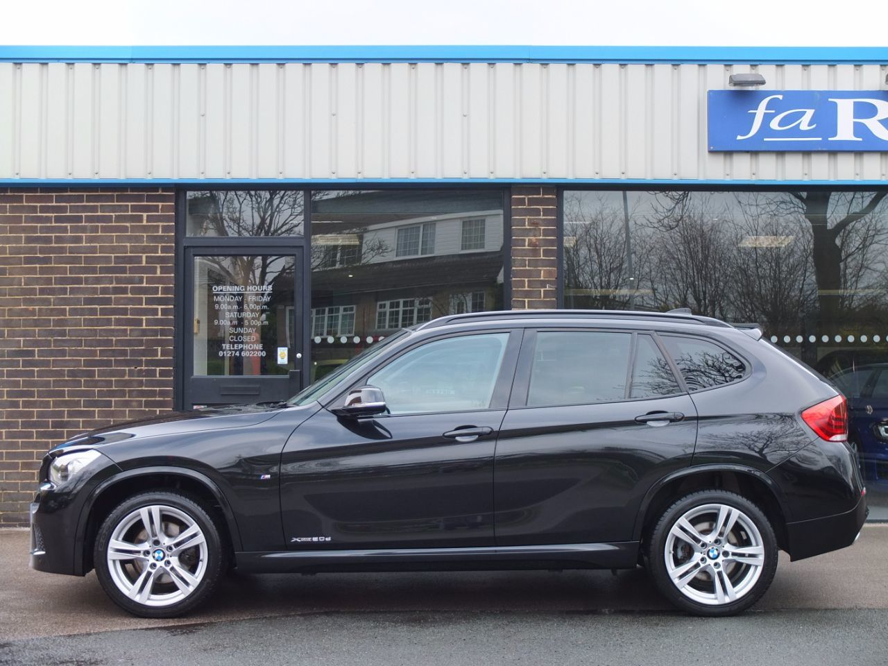second hand bmw x1 xdrive 20d m sport auto for sale in bradford west yorkshire fa roper ltd. Black Bedroom Furniture Sets. Home Design Ideas