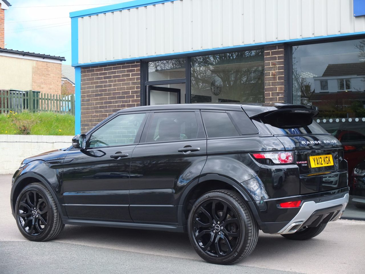 Used Land Rover Range Rover Evoque 2.2 SD4 Dynamic 5 door ...