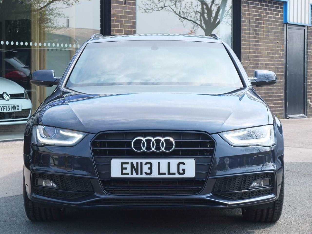 Audi A4 Avant 2.0 TDI Black Edition 177ps Estate Diesel Moonlight Blue Metallic