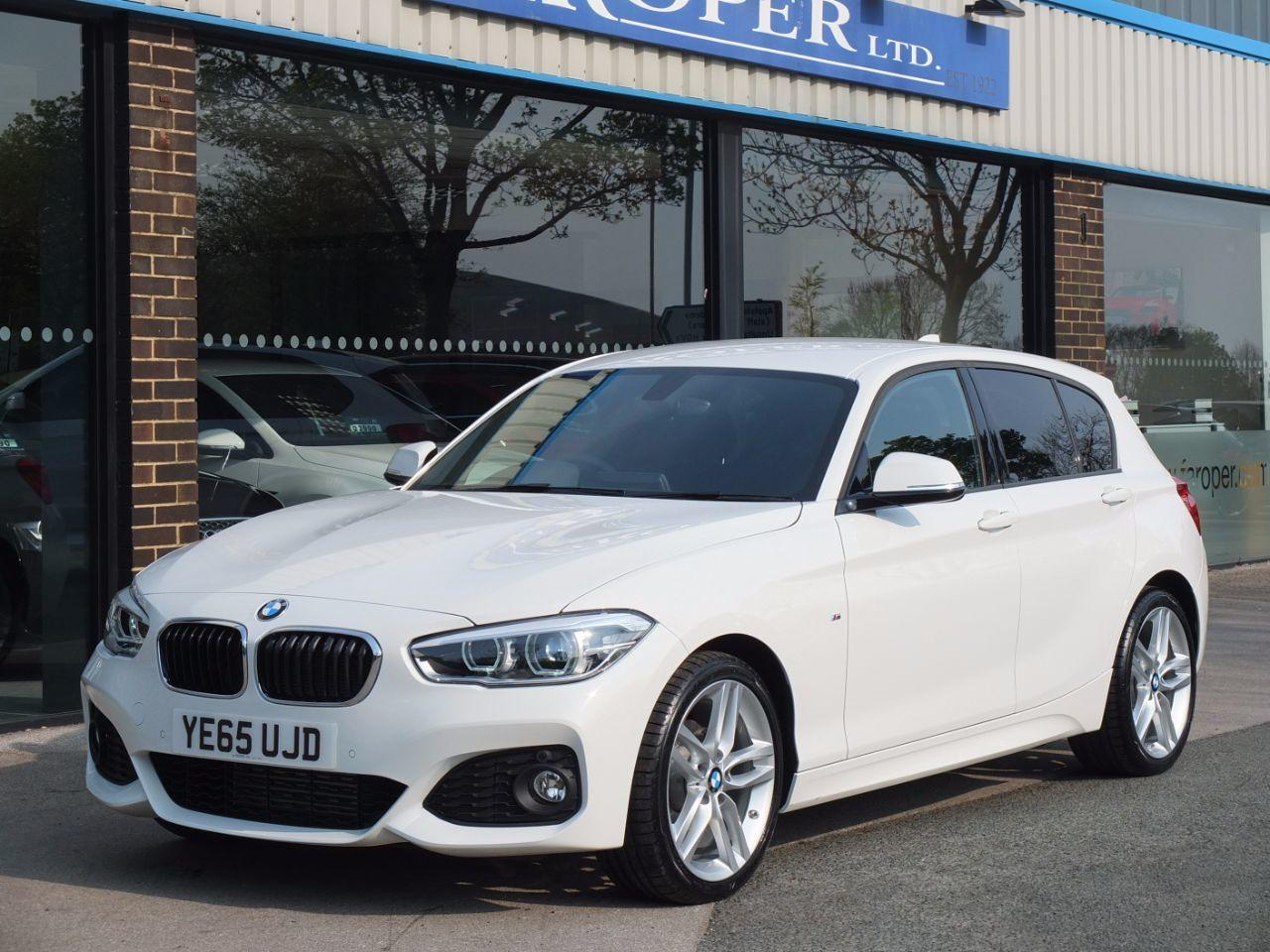BMW 1 Series 2.0 118d M Sport 5 door Auto (Navigation) Hatchback Diesel Alpine WhiteBMW 1 Series 2.0 118d M Sport 5 door Auto (Navigation) Hatchback Diesel Alpine White at fa Roper Ltd Bradford