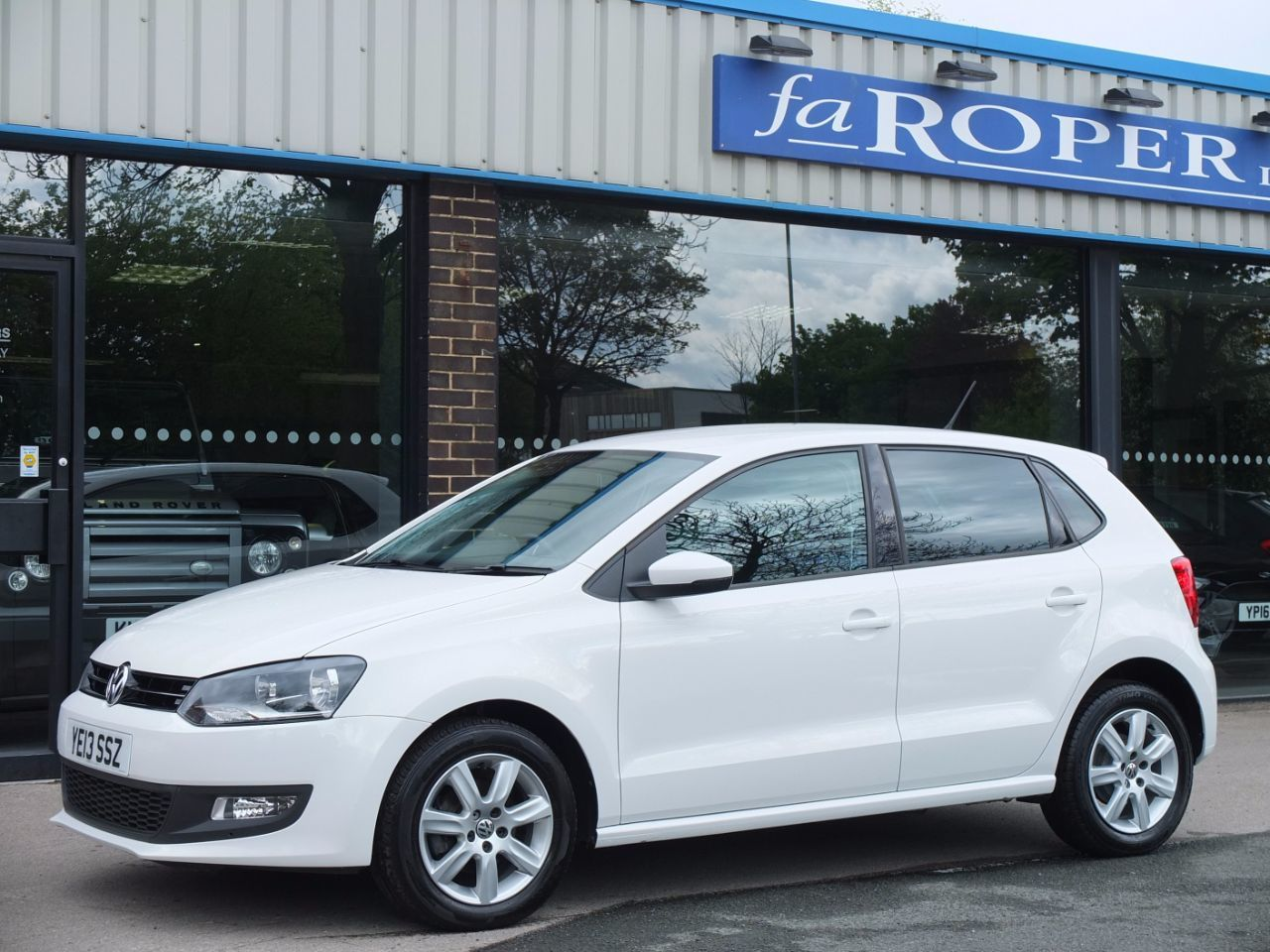 Volkswagen Polo 1.2 TDI Match Edition 5 door Hatchback Diesel Candy White