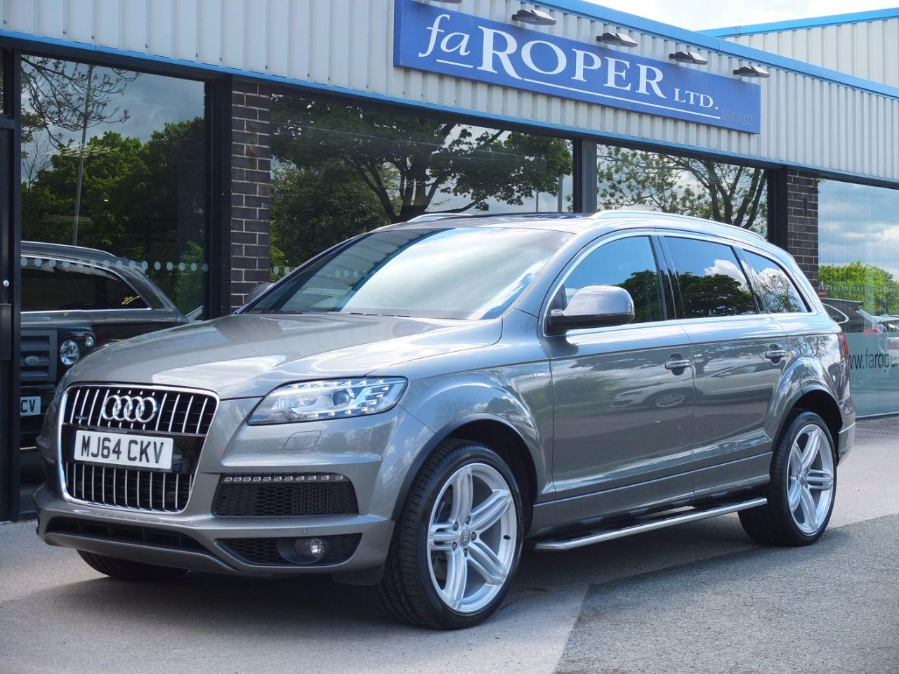 Audi Q7 3.0 TDI 245 quattro S Line Plus Auto (Panoramic Roof) Estate Diesel Graphite Grey MetallicAudi Q7 3.0 TDI 245 quattro S Line Plus Auto (Panoramic Roof) Estate Diesel Graphite Grey Metallic at fa Roper Ltd Bradford