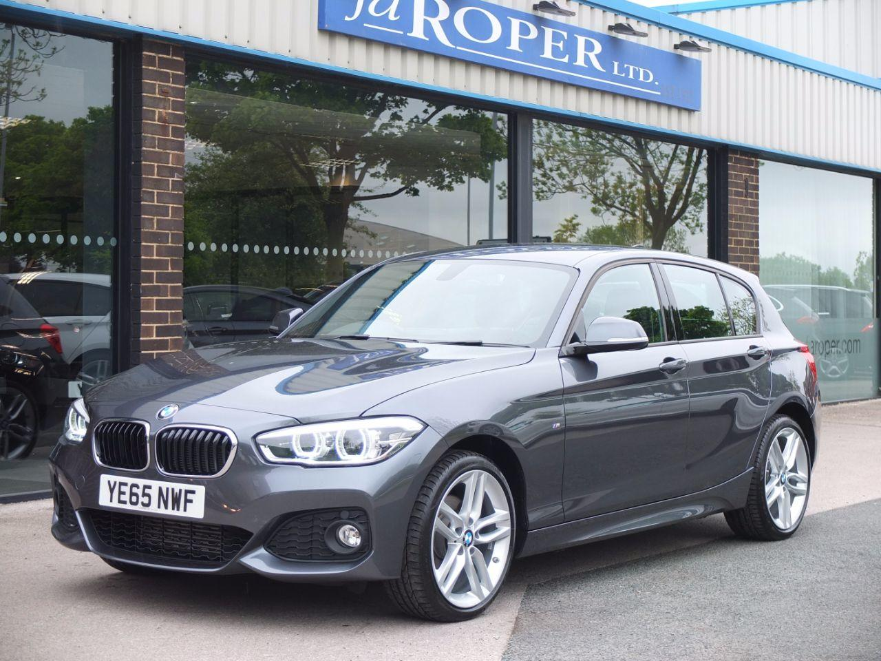 BMW 1 Series 2.0 120d xDrive M Sport Auto 5 door Hatchback Diesel Mineral Grey MetallicBMW 1 Series 2.0 120d xDrive M Sport Auto 5 door Hatchback Diesel Mineral Grey Metallic at fa Roper Ltd Bradford