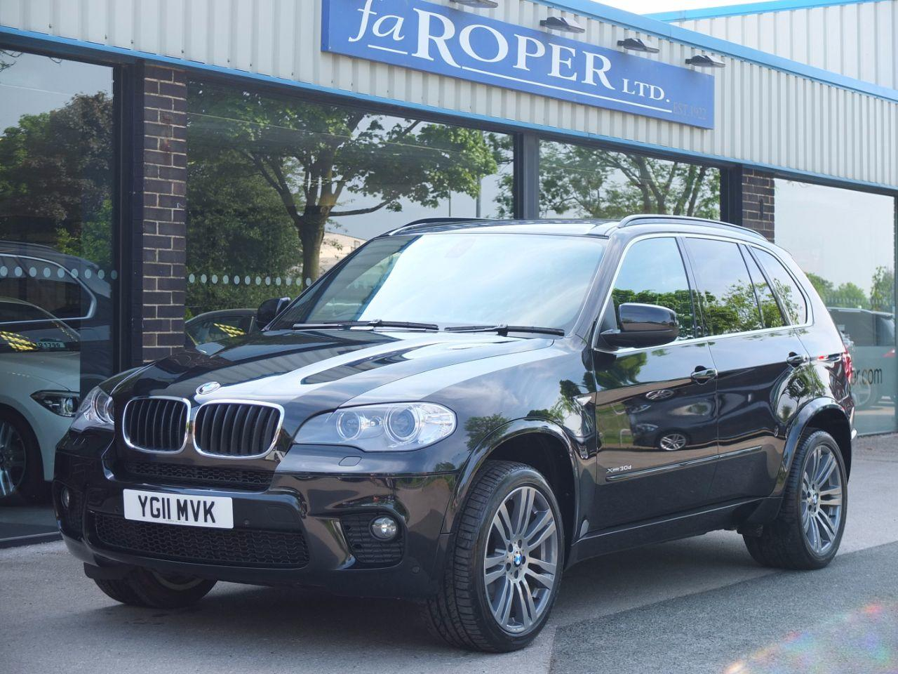 BMW X5 3.0 xDrive30d M Sport Auto Estate Diesel Black Sapphire MetallicBMW X5 3.0 xDrive30d M Sport Auto Estate Diesel Black Sapphire Metallic at fa Roper Ltd Bradford