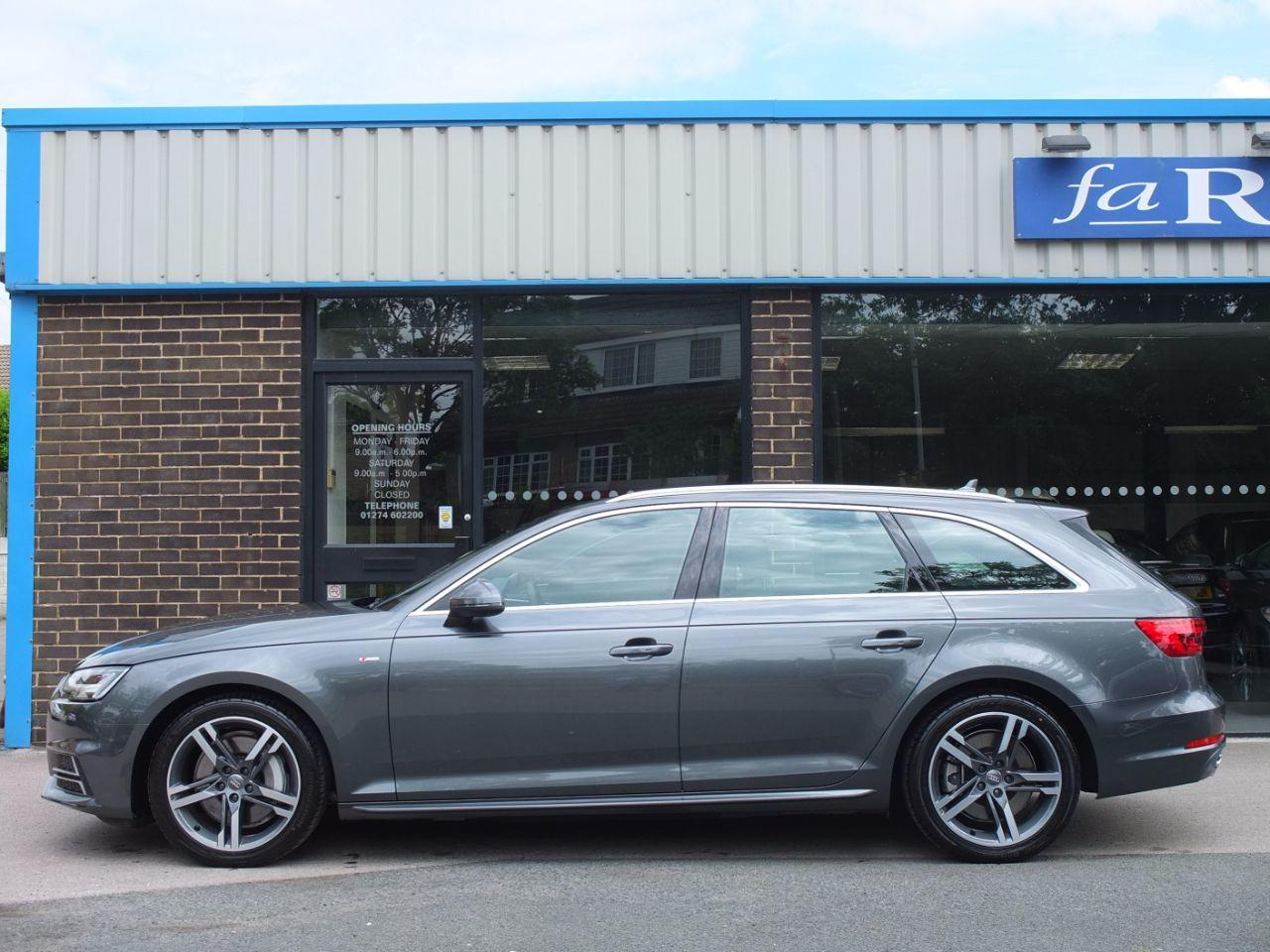 Audi A4 Avant 3.0 TDI 272ps quattro S Line Tiptronic New Model (Tech Pack +++) Estate Diesel Daytona Grey Metallic