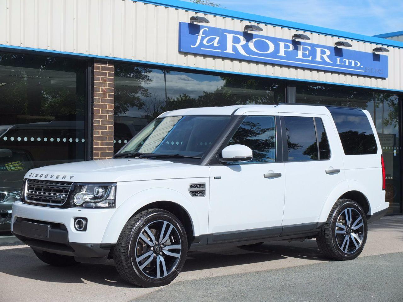 Land Rover Discovery 3.0 SDV6 SE Tech Auto Estate Diesel Yulong White Metallic