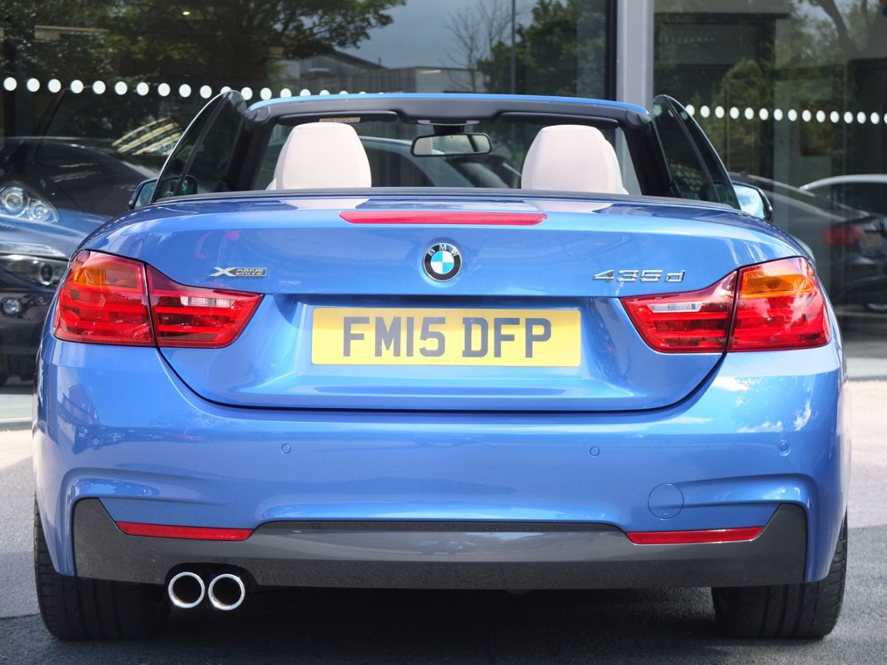 BMW 4 Series 3.0 435d xDrive M Sport Convertible Auto ++++Spec Convertible Diesel Estoril Blue Metallic