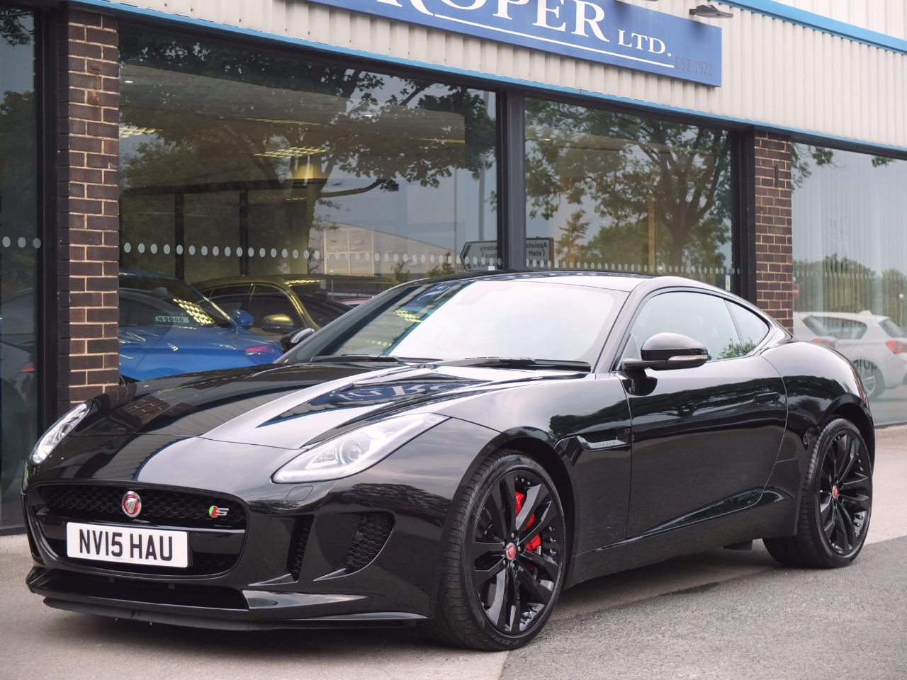 Used Jaguar F Type Coupe 3 0 Supercharged V6 S Auto 380ps