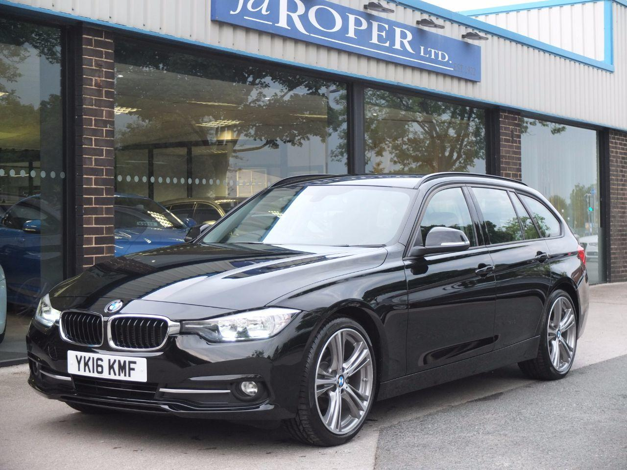 BMW 3 Series 2.0 320 ED Efficient Dynamics Sport Touring Auto Estate Diesel Jet BlackBMW 3 Series 2.0 320 ED Efficient Dynamics Sport Touring Auto Estate Diesel Jet Black at fa Roper Ltd Bradford