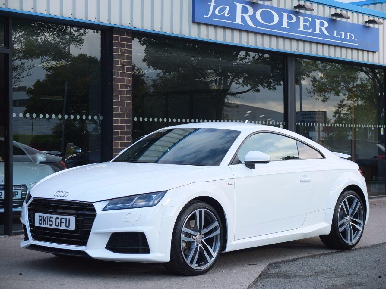 Audi TT Coupe 2.0 TDI S Line Ultra 190ps Coupe Diesel Ibis WhiteAudi TT Coupe 2.0 TDI S Line Ultra 190ps Coupe Diesel Ibis White at fa Roper Ltd Bradford