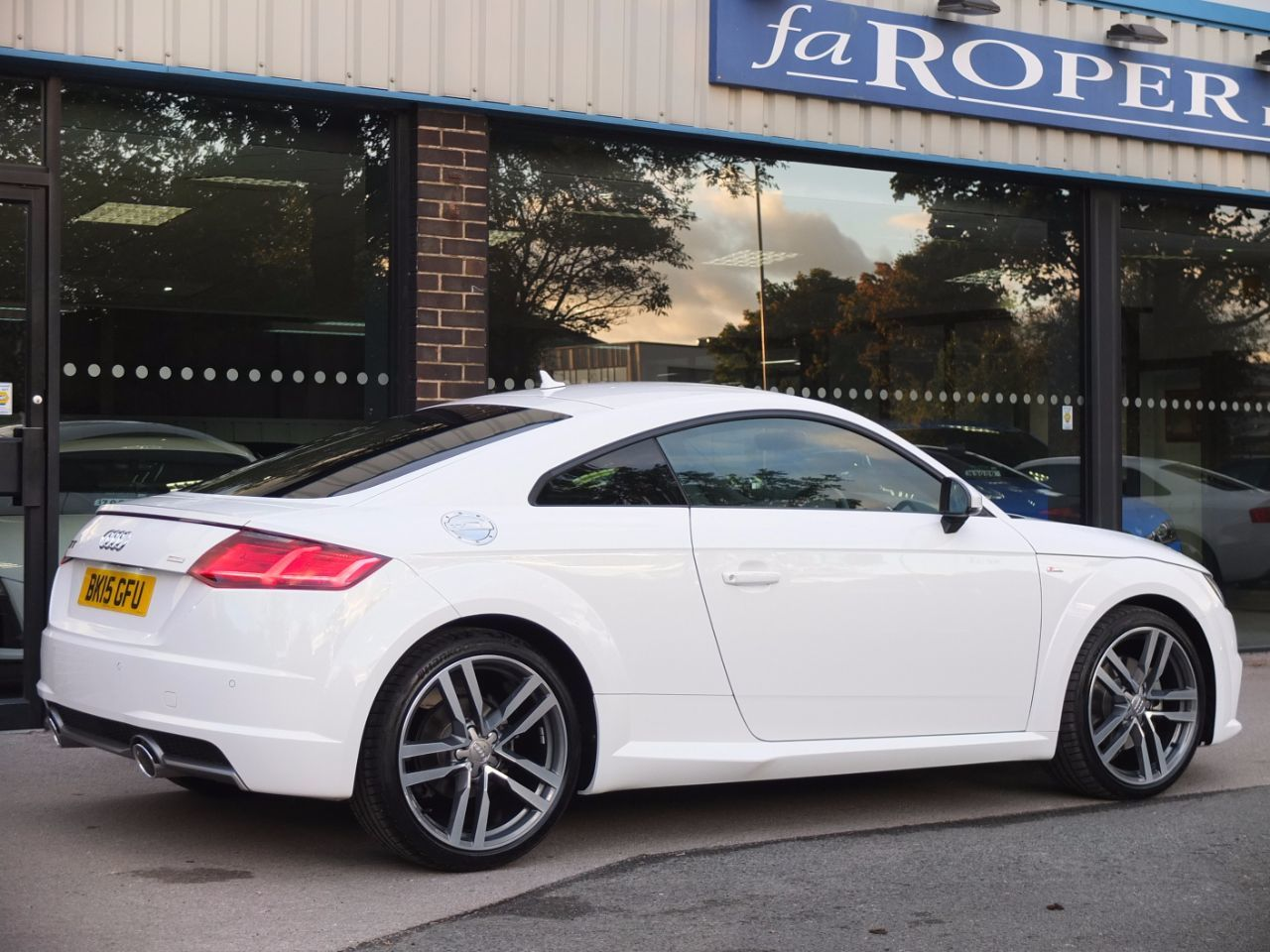 second hand audi tt coupe 2 0 tdi s line ultra 190ps for. Black Bedroom Furniture Sets. Home Design Ideas