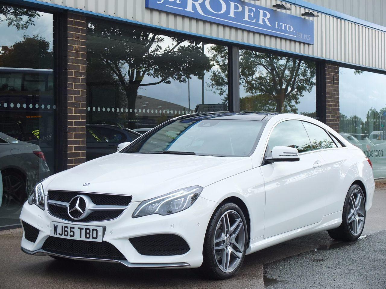 Mercedes-Benz E Class 2.1 E220 BlueTEC AMG Line Coupe 7G-Tronic Coupe Diesel Polar WhiteMercedes-Benz E Class 2.1 E220 BlueTEC AMG Line Coupe 7G-Tronic Coupe Diesel Polar White at fa Roper Ltd Bradford