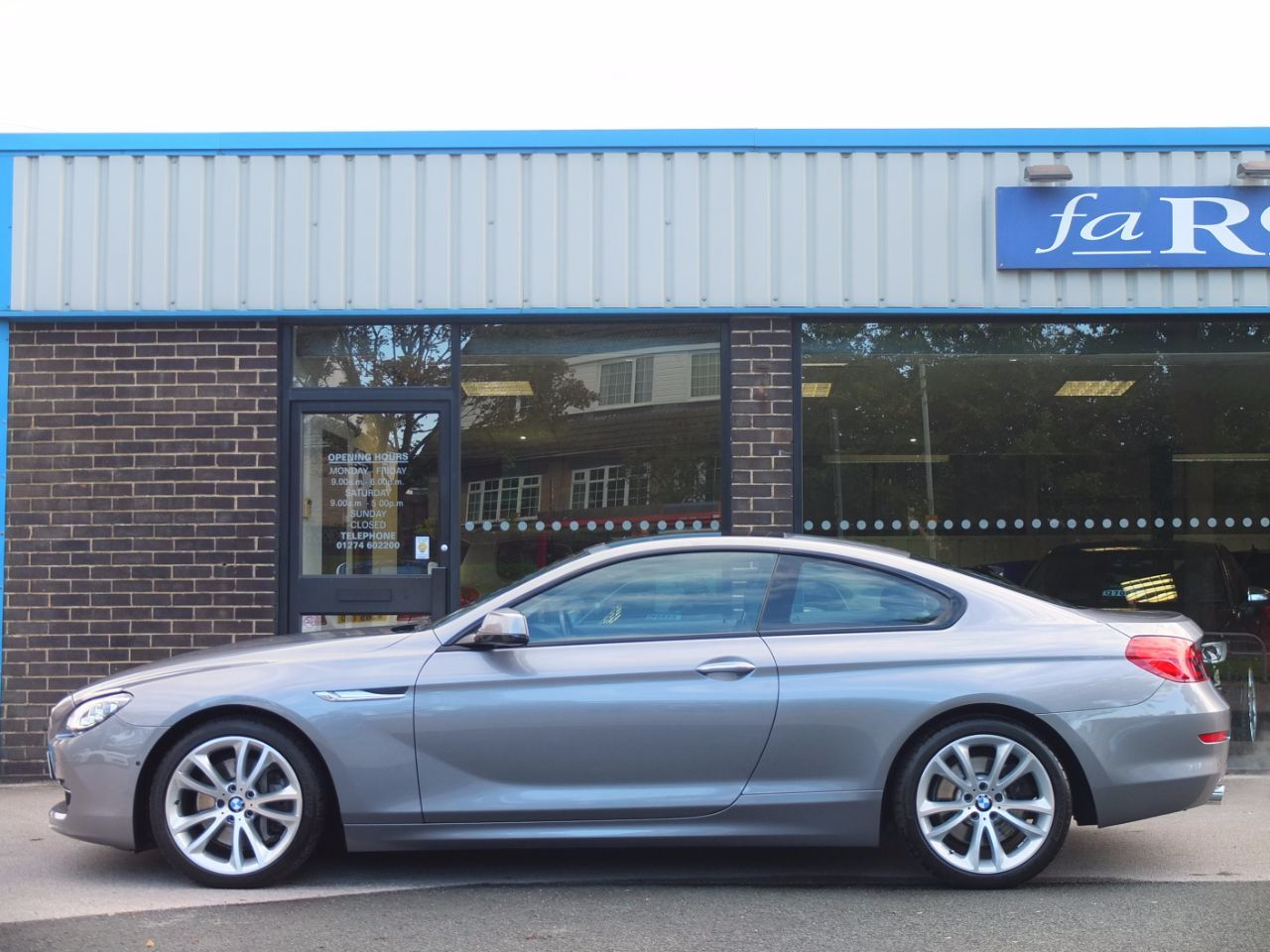 BMW 6 Series 3.0 640d SE Coupe Auto ++++Spec Coupe Diesel Space Grey Metallic