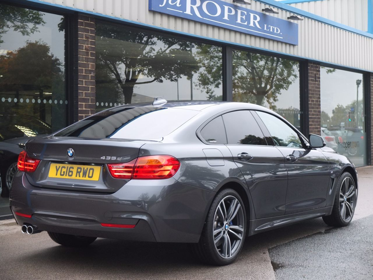 used bmw 4 series 435d xdrive m sport gran coupe auto pro media m sport plus pack for sale. Black Bedroom Furniture Sets. Home Design Ideas