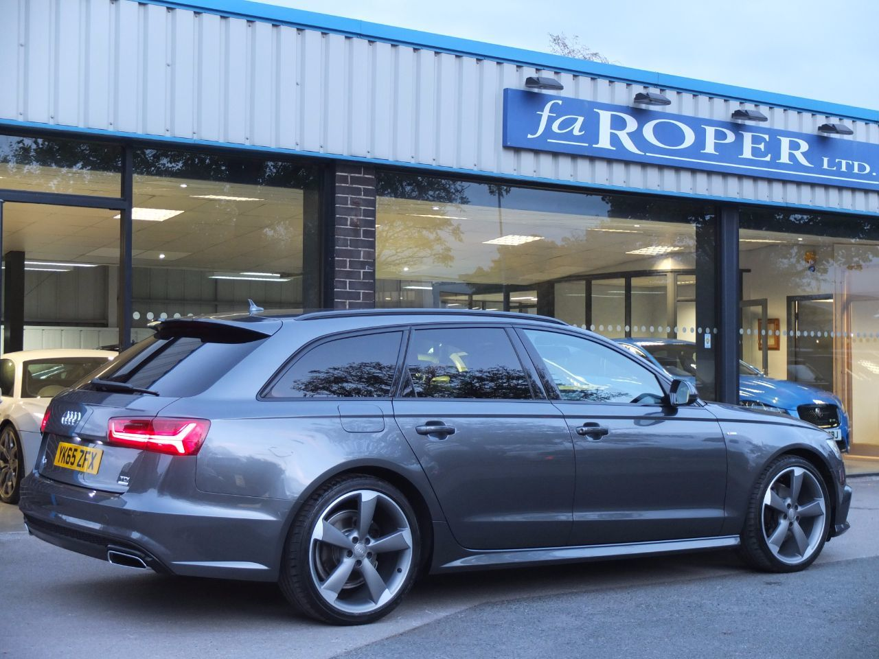 Used Audi A6 Avant 2 0 Tdi Ultra Black Edition S Tronic 190ps For Sale In Bradford West