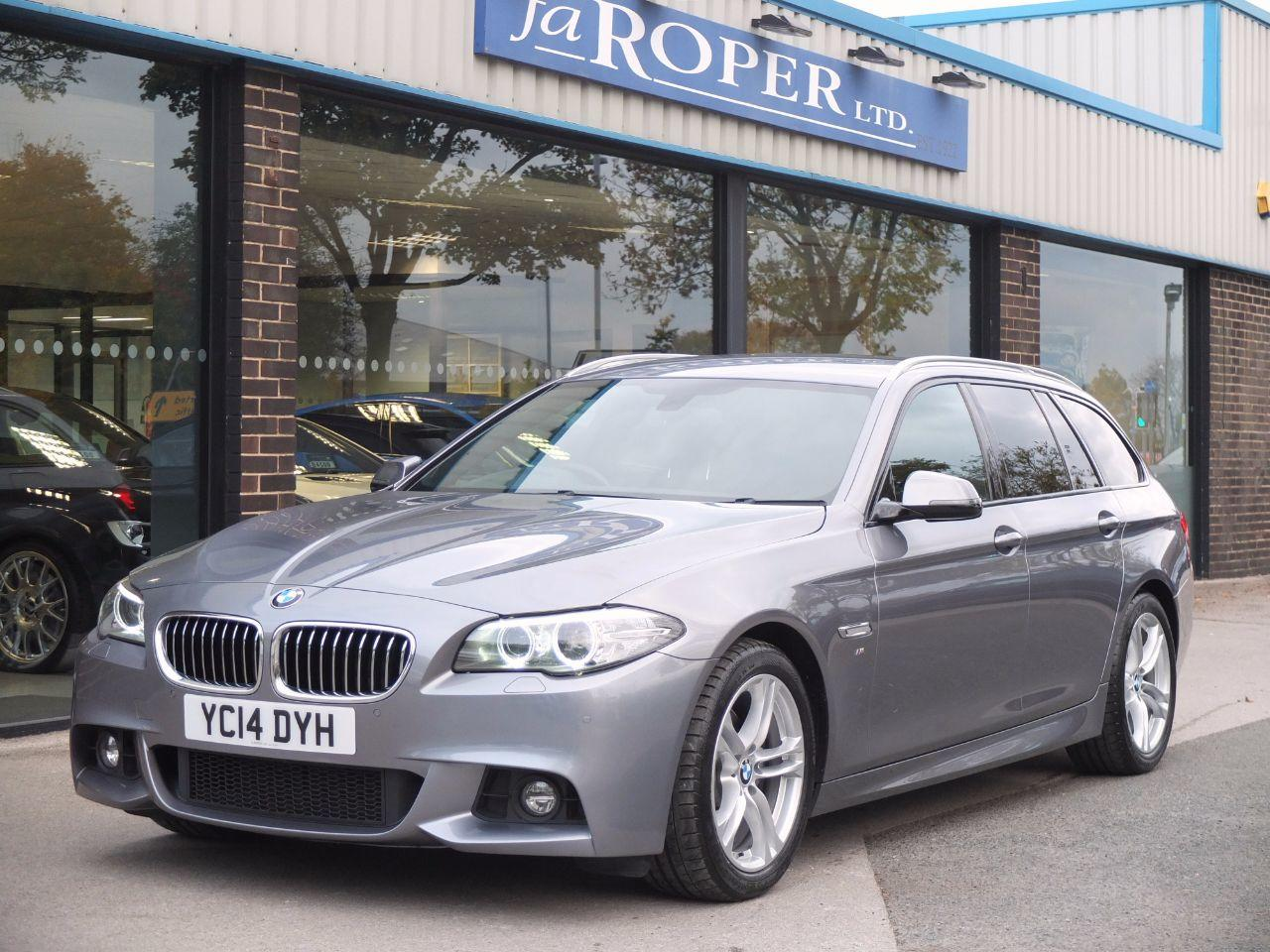 BMW 5 Series 2.0 520d M Sport Touring Auto Estate Diesel Space GreyBMW 5 Series 2.0 520d M Sport Touring Auto Estate Diesel Space Grey at fa Roper Ltd Bradford