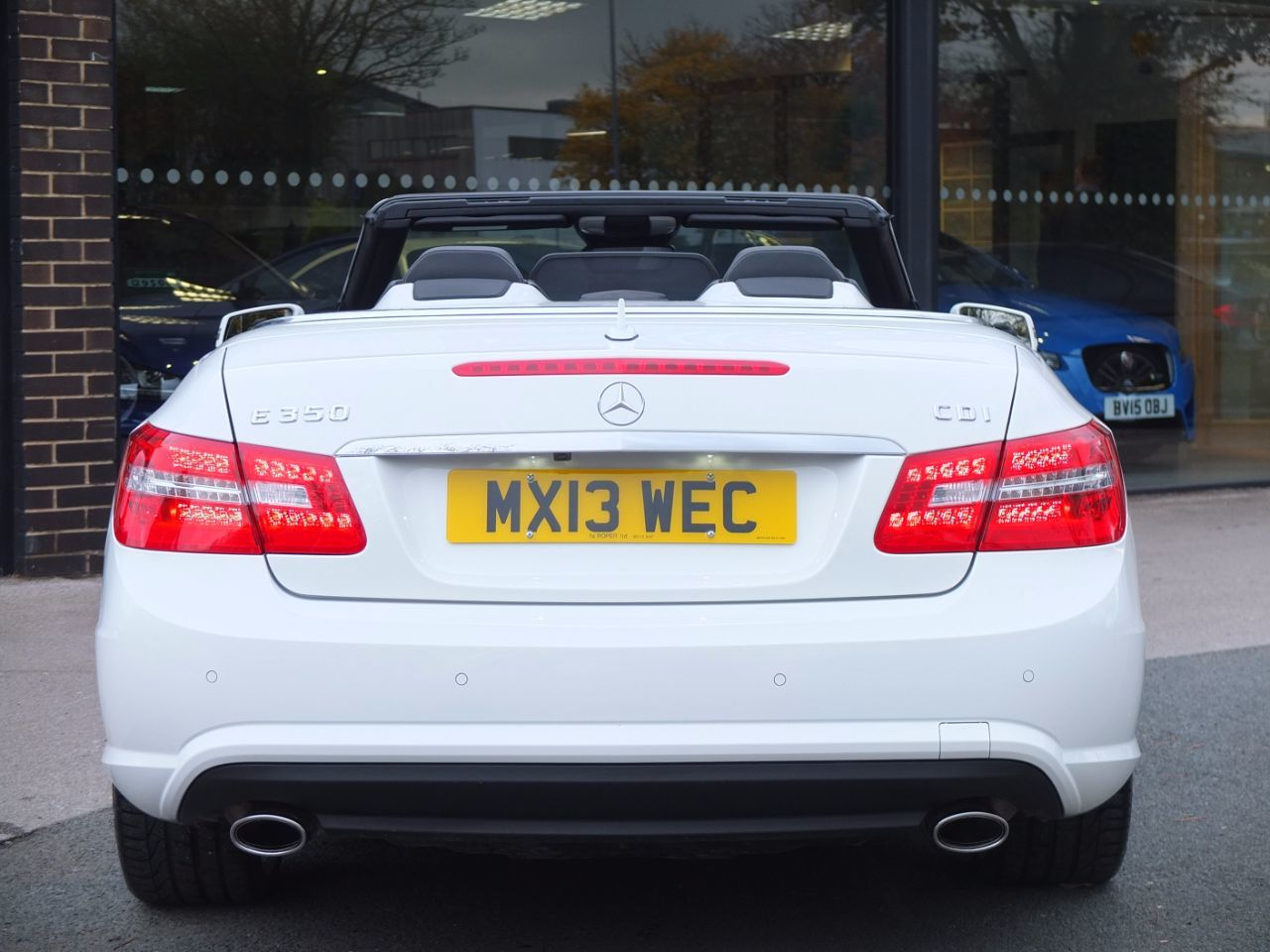 Mercedes-Benz E Class 3.0 E350 CDI BlueEFFICIENCY [265] Sport Convertible Auto Convertible Diesel Polar White