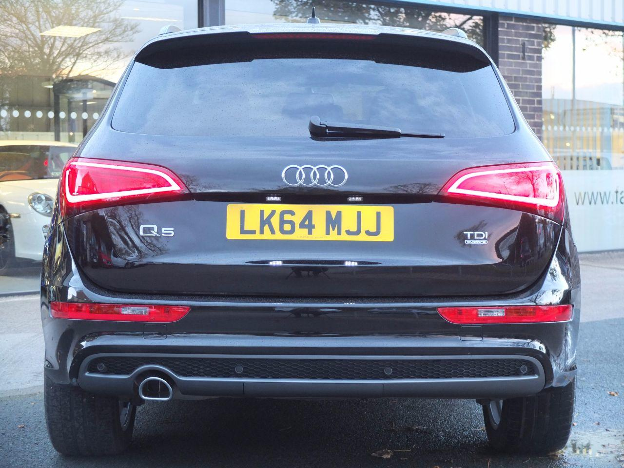 Audi Q5 2.0 TDI quattro S Line Plus 177ps S tronic Estate Diesel Mythos Black Metallic