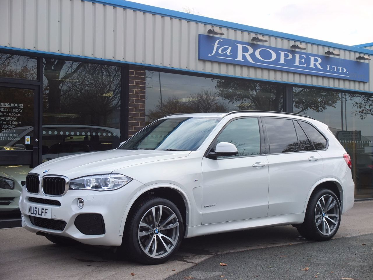 second hand bmw x5 xdrive30d m sport auto for sale in bradford west yorkshire fa roper ltd. Black Bedroom Furniture Sets. Home Design Ideas