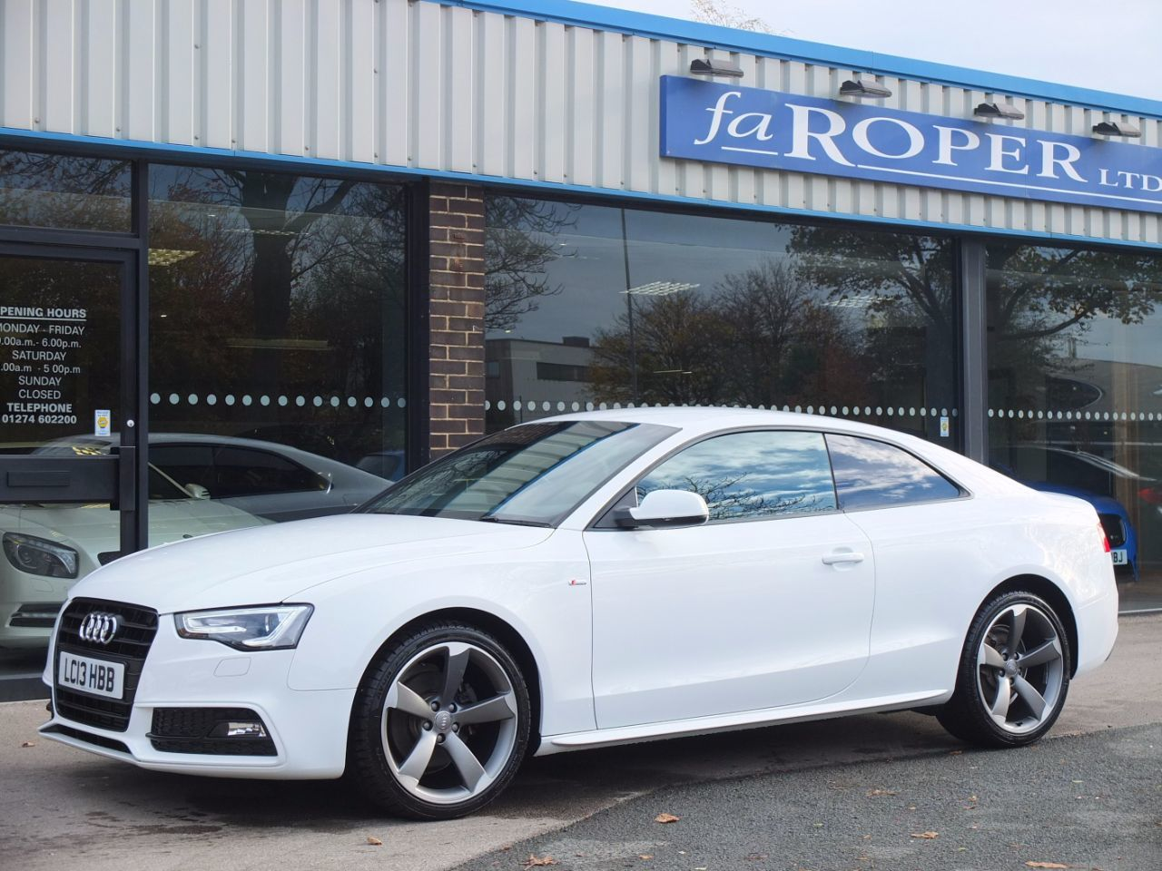 Second Hand Audi A5 Coupe 2 0 Tdi 177 Black Edition