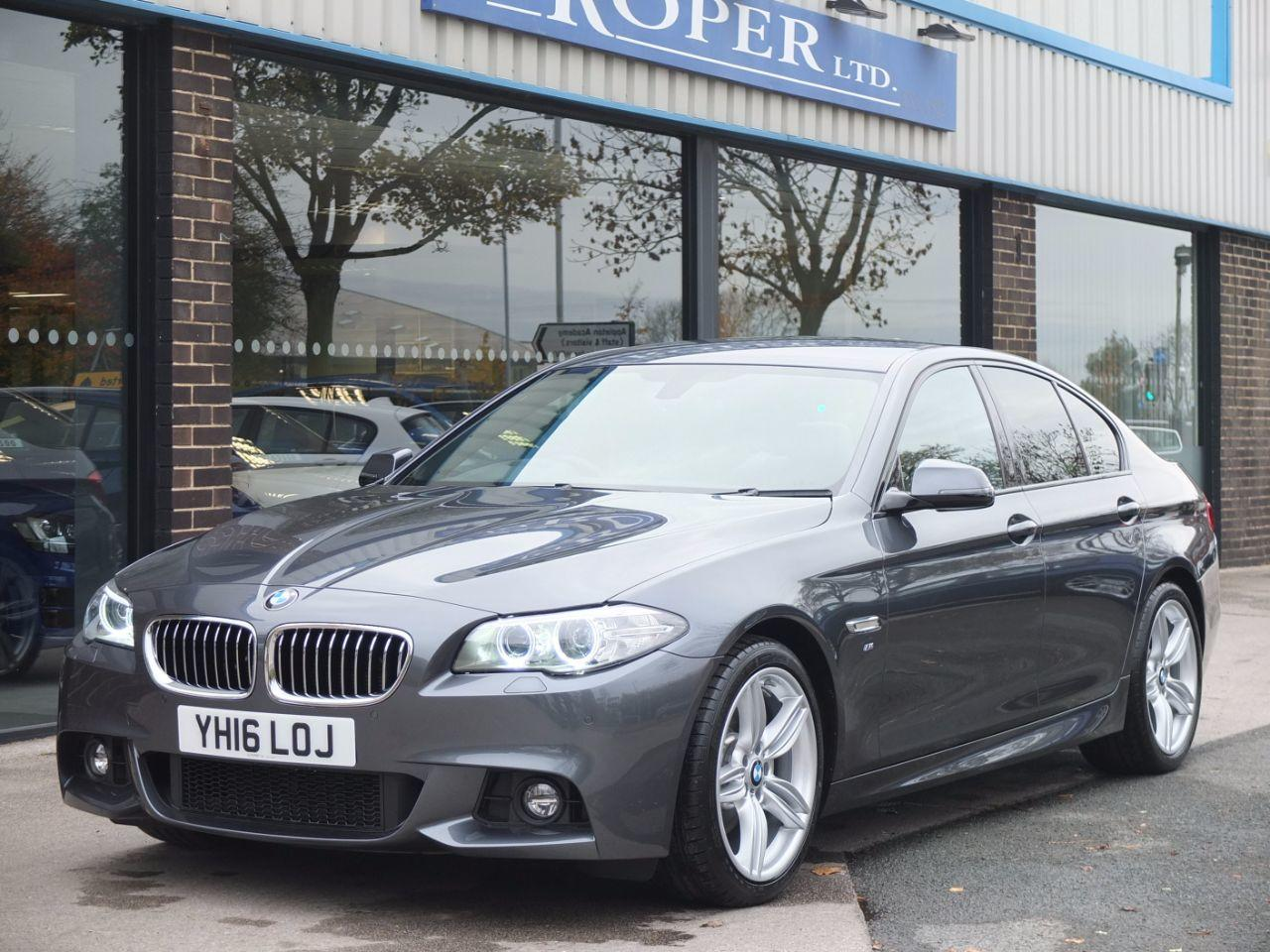 BMW 5 Series 2.0 520d [190] M Sport Plus Pack Auto Saloon Diesel Mineral Grey MetallicBMW 5 Series 2.0 520d [190] M Sport Plus Pack Auto Saloon Diesel Mineral Grey Metallic at fa Roper Ltd Bradford