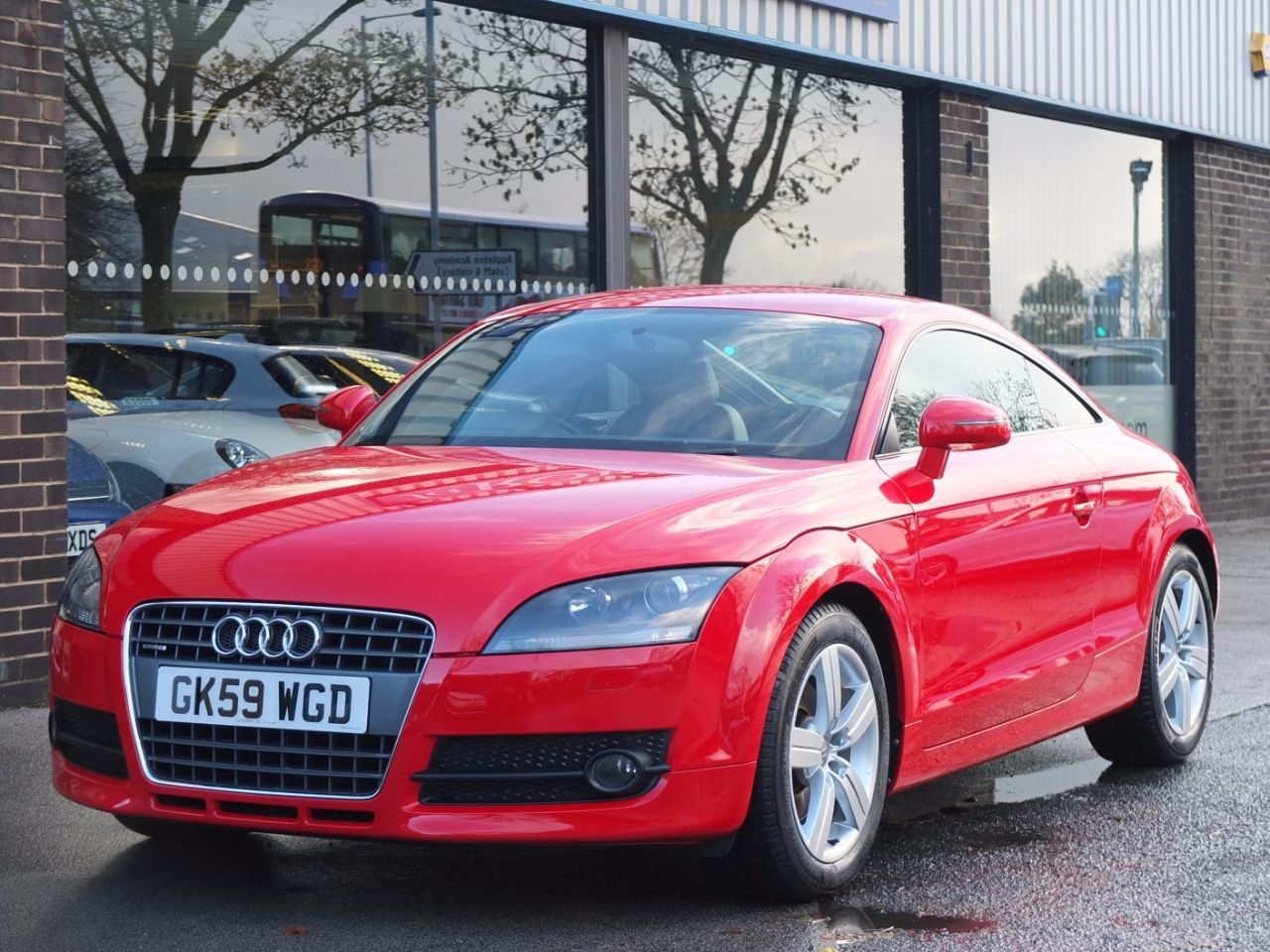 Audi TT Coupe 2.0 TDI quattro 170ps Coupe Diesel Brilliant RedAudi TT Coupe 2.0 TDI quattro 170ps Coupe Diesel Brilliant Red at fa Roper Ltd Bradford